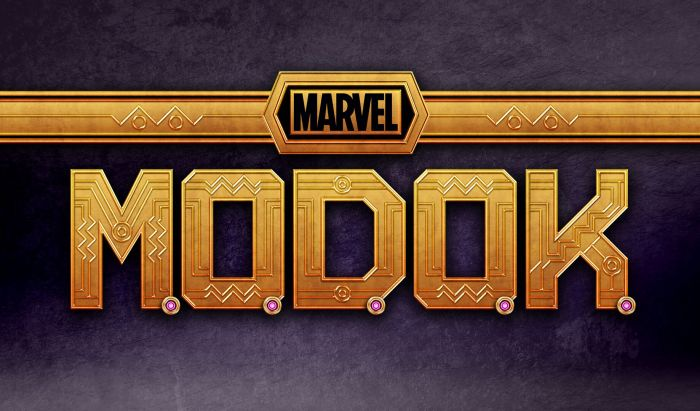 Logo Serial MODOK Marvel