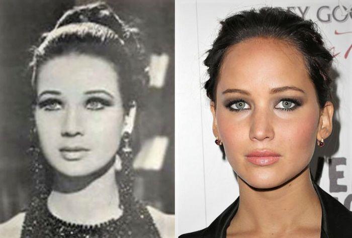 Artis Hollywood yang Punya Doppelganger dari Masa Lalu