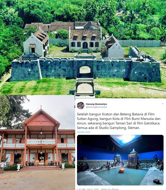Studio Film Indonesia yang Sering Jadi Lokasi Syuting