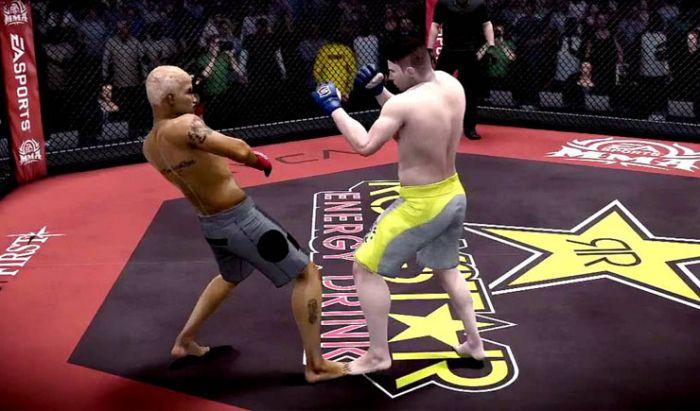 Game EA Sports MMA tidak bisa dimainkan di Denmark hanya karena iklan energy drink.