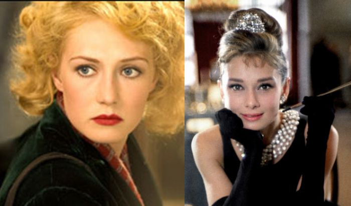 Rachel Stein dan Holly Golightly.