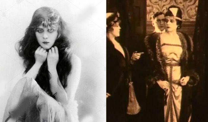 Theda Bara dalam film berjudul A Fool There Was (1915).