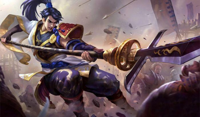 Hero Fighter Mobile Legends.