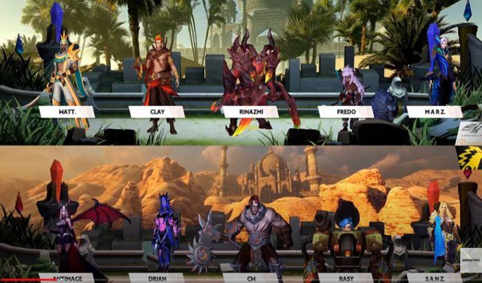 ONIC vs Aerowolf game 1