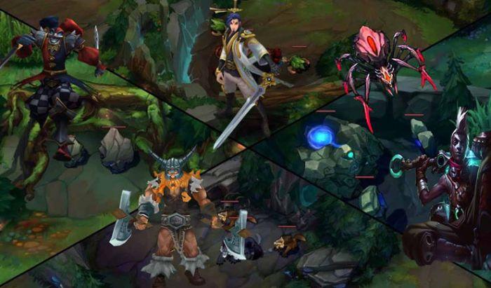 Para jungler harus menghabiskan waktu melakukan farm monster hutan.