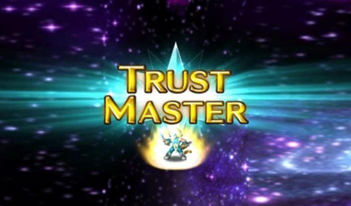 Butuh waktu yang cukup lama untuk membuka Trust Master karakter.