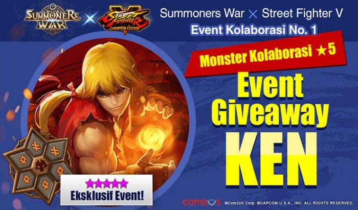 Ken akan hadir di Summoner War sebagai salah satu monster
