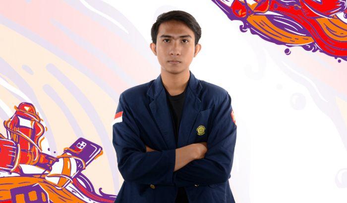 I Nyoman Dehi Pranipata. Kapten Udayana untuk Piala Menpora Esports 2020 AXIS.