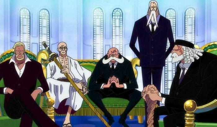 Para Gorosei yang belum diketahui siapa namanya.