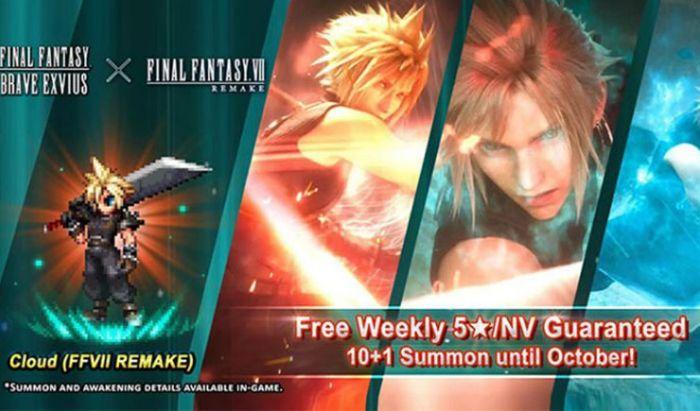 Cloud di Final Fantasy 7 Remake jadi karakter Neo Vision pertama.