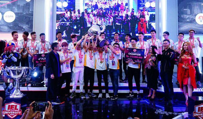 Tim Binus yang Menjuarai IEL 2019. Dok. IEL.