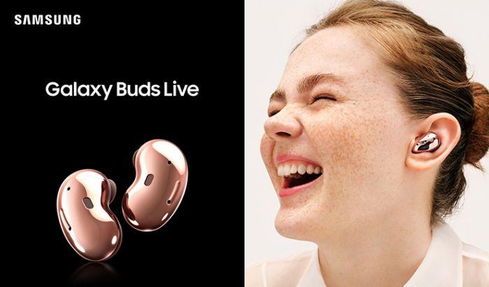 Samsung Galaxy Buds Live. Dok. Samsung Indonesia.