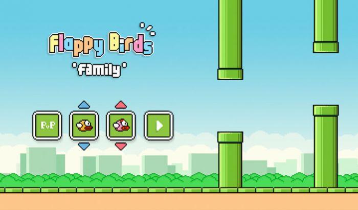 Flappy Birds sempat merilis sekuel bertema multiplayer offline, Flappy birds Family.