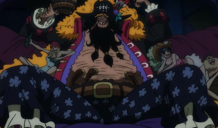 Penampilan Blackbeard di film One Piece: Stampede.