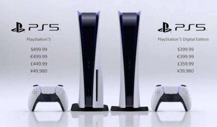 Daftar harga PS5.
