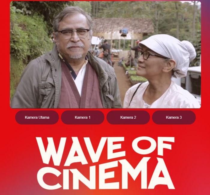 Keseruan Hari Pertama Konser Wave of Cinema di Bioskop Online