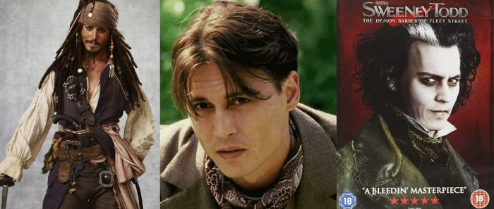 Peran-peran Johnny Depp Langganan Nominasi Oscar, tapi Belum Pernah Menang.