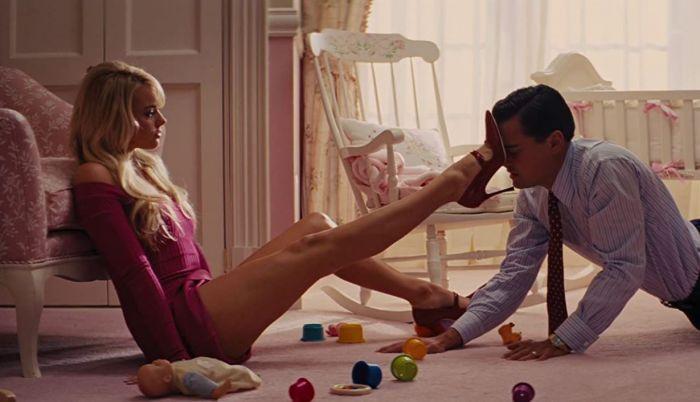 Margot Robbie lakukan adegan seks di film The Wolf of Wall Street.