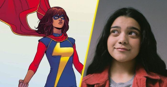 Iman Vellani sebagai Ms. Marvel.