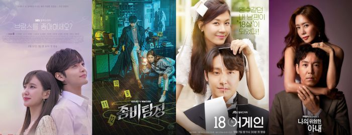 Drama Korea Do You Like Brahms?, Zombie Detective, 18 Again, dan My Dangerous Wife.