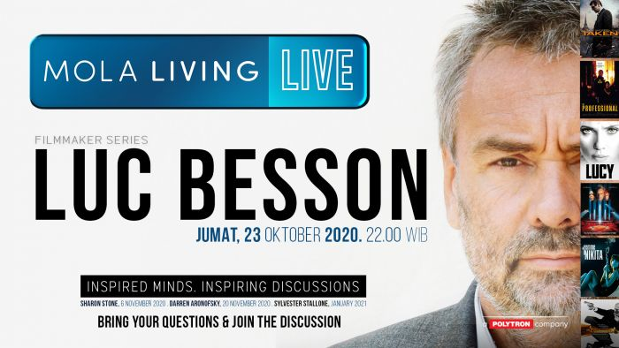 Luc Besson Mola Living Live