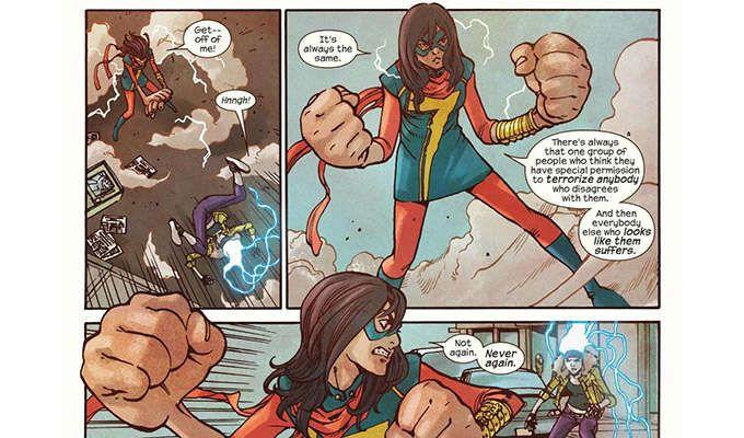 Fakta Ms Marvel yang Bisa Bikin Kalian Jatuh Cinta.