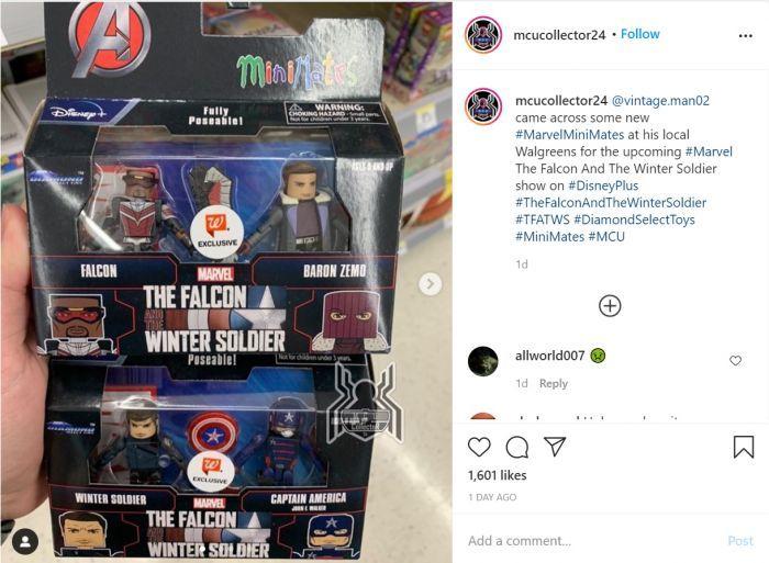 Mainan Falcon and Winter Soldier Bocorkan Sosok Captain America Baru