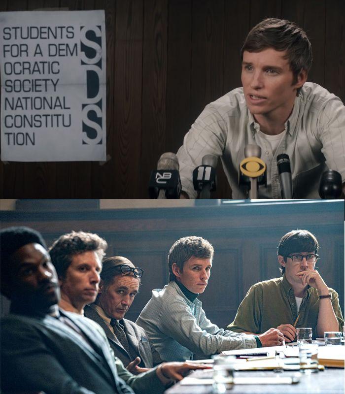 Sinopsis dan fakta film The Trial of the Chicago 7.