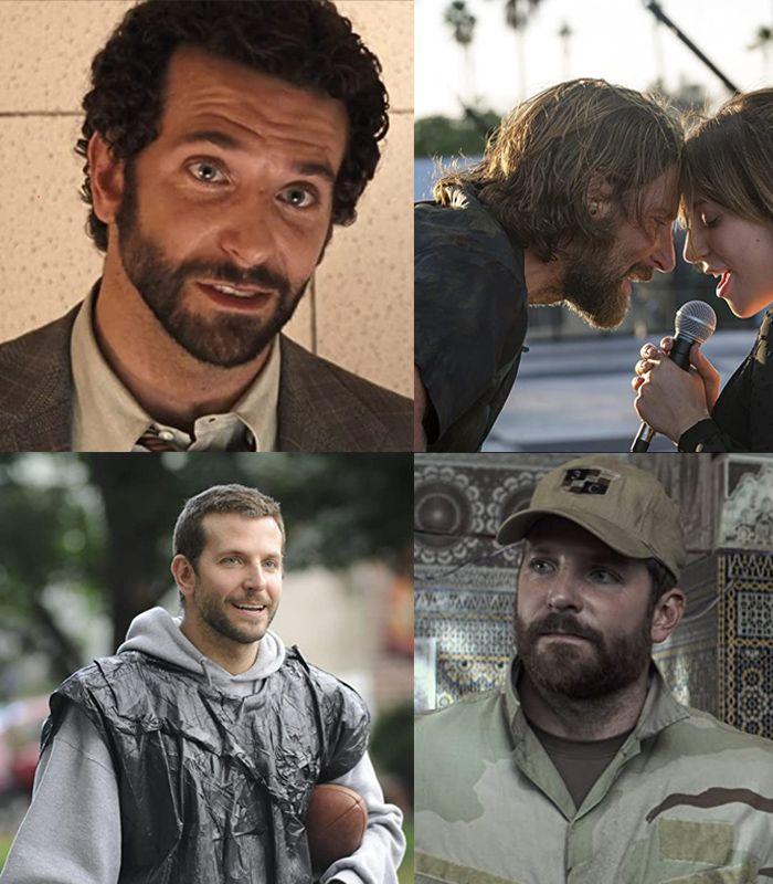 Peran-peran Bradley Cooper Langganan Nominasi Oscar, tapi Belum Pernah Menang.