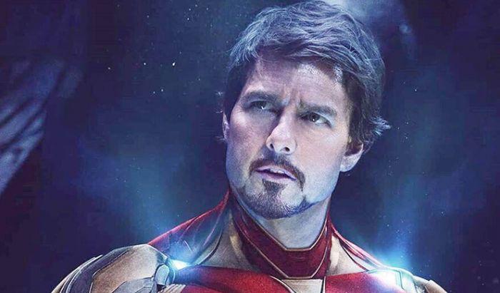 Inilah Jadinya Jika Tom Cruise Berperan sebagai Iron Man