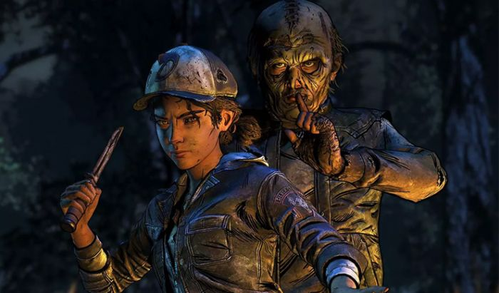 Serial game The Walking Dead produksi terakhir Telltale.