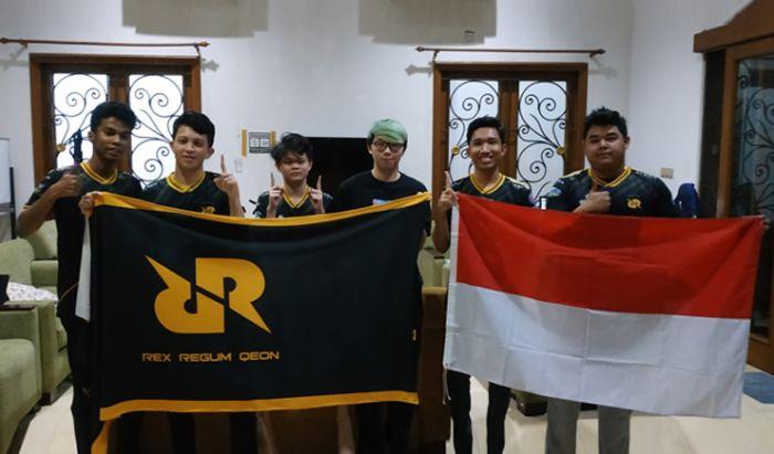 Momen RRQ Hoshi Juara MPL Invitational.