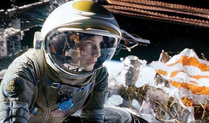 Film Hollywood Gravity.