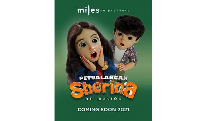 Poster Film Petualangan Sherina Animasi