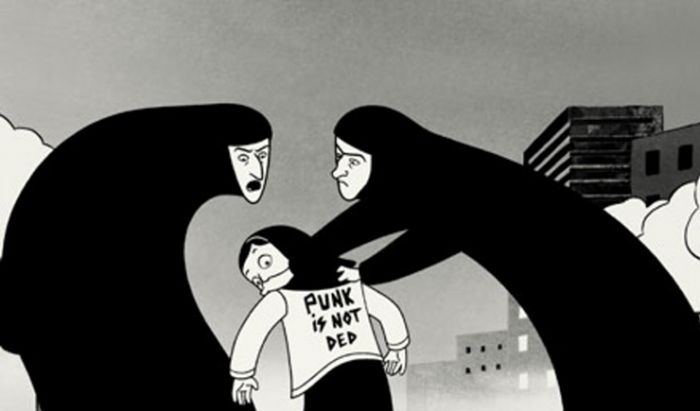 Film Propaganda Persepolis.