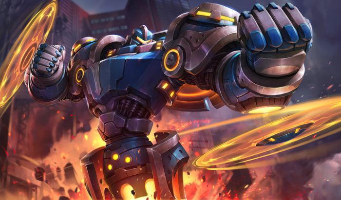 Hero offlaner di Mobile Legends.