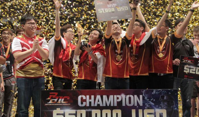 RRQ Endeavour jadi juara dunia di PBIC.