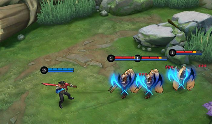 Basic Attack Brody Mobile Legends.