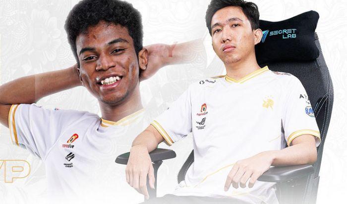 LJ dan Lemon jadi pemain yang berhasil memenangkan gelaran MPL