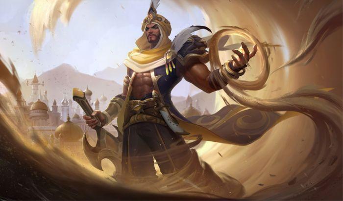 Fighter Mobile Legends, Khaleed.