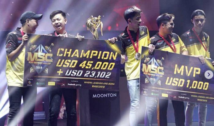 ONIC divisi Mobile Legends menangkan gelaran MSC 2019
