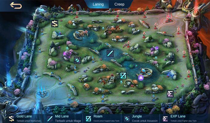 Gameplay baru Mobile Legends.