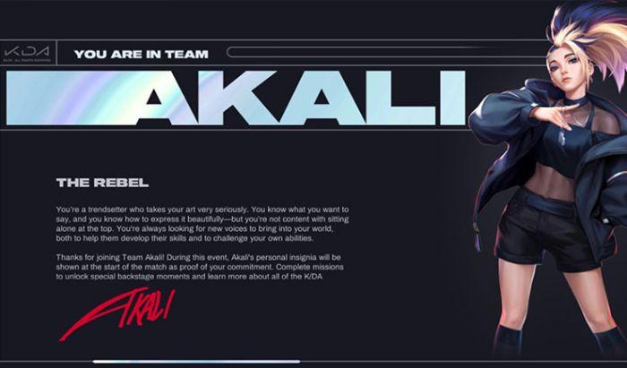 """Event K/DA """"Comeback"""" yang akan menghadiahi pemain karakter baru."""