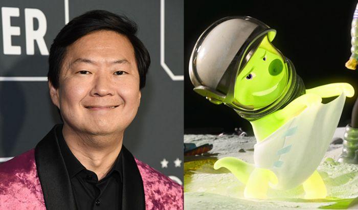Ken Jeong sebagai Gobi di film Over the Moon