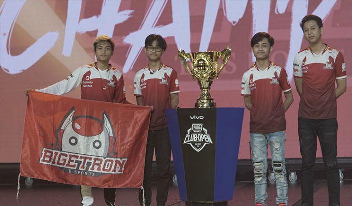Bigetron RA menangkan turnamen kancah dunia di PMCO Fall Split Global Final.