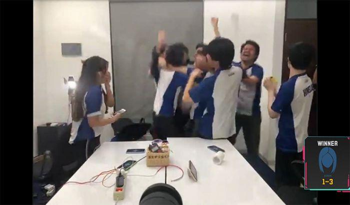 Momen kemenangan Siren Esports di MDL Season 2.