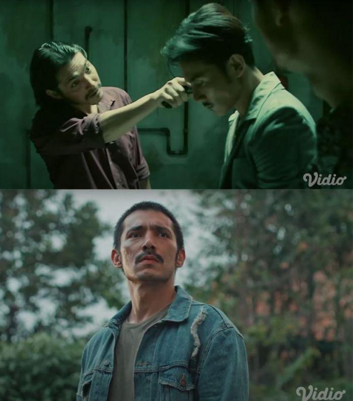 Abimana Aryasatya Versi Film dan Serial Serigala Terakhir.