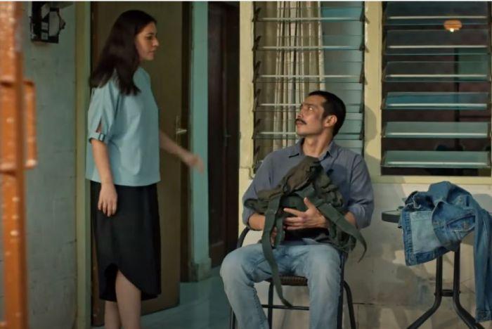 Abimana Aryasatya dan Hannah Al Rashid di Serial Serigala Terakhir.