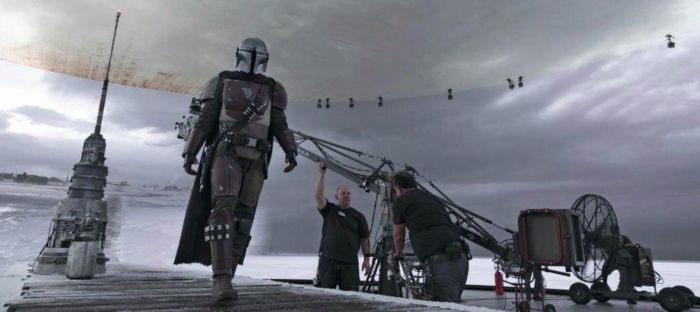 Star Wars The Mandalorian Stagecraft Technology