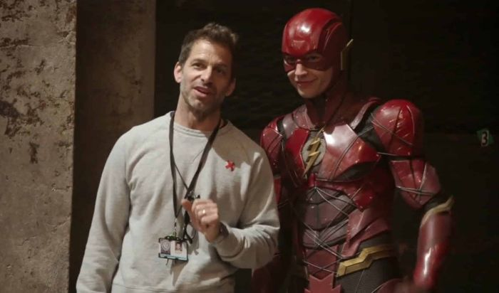 Ezra Miller Syuting Tambahan Justice League di Lokasi Fantastic Beasts